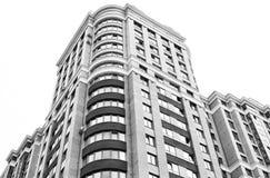 Nära sikt på residental byggnad Arkivfoton