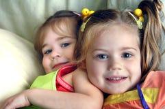 Nära syskon Royaltyfria Bilder