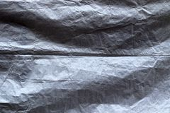 Nära upp detaljerad sikt på plast- folie och plast- yttersidor i hög upplösning arkivfoto