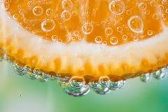 Närbild av apelsinen Royaltyfria Foton
