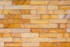 Närbild av bakgrund för tegelstenvägg heltäckande cement, murverk Arkivbild