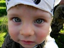 Närbild av barnet Royaltyfri Foto