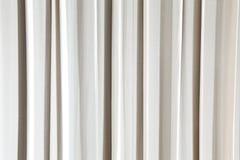 Närbild av beige gardinbakgrund Royaltyfria Foton