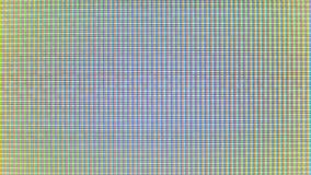 Närbild av bildskärmens PIXEL stock video
