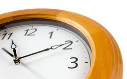 Närbild av den klassiska klockan Fotografering för Bildbyråer