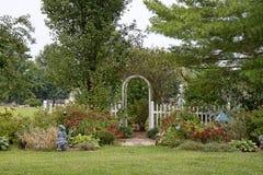 Närbild av hörnträdgården i nedgång Royaltyfri Fotografi