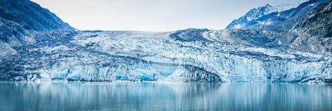 Närbild av Margerie Glacier i Alaska Royaltyfri Fotografi