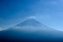 Närbild av Mt Fuji Royaltyfri Fotografi
