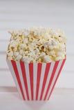 Närbild av popcorn med 4th det juli temat Royaltyfria Bilder