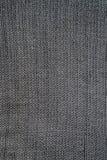 Närbild av sömlösa grå färger stucken tygtextur Royaltyfri Foto