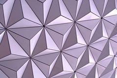 Närbild för Disney Epcot Spaceshipjord Arkivfoto