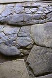 Närbild av stentjock skiva Arkivfoton