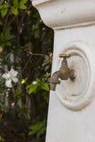 Närbild av vattenklappet Royaltyfri Foto