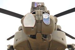 Närbild för AH-64E TADS/PNVS Royaltyfri Fotografi