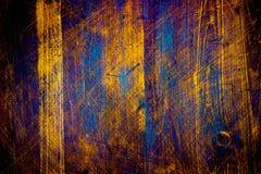 Närbild för brun textur för naturlig bakgrund för trä högkvalitativ tappningfärg med djupa skrapor royaltyfria bilder