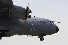 Närbild för flygbuss A400M Royaltyfri Bild