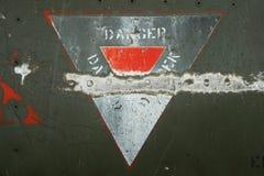 Närbild för metall för flygplanbakgrund militär Royaltyfri Fotografi