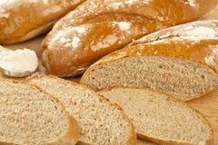 Närbild för mjöl för svart bröd Royaltyfri Fotografi