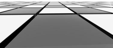 Närbild 2 för modell för schackbräde royaltyfri illustrationer