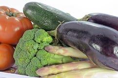 Närbild för nya grönsaker Arkivfoton