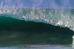 Närbild för rev för breddsteg för havfördjupningvåg arkivbild