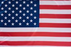 närbild som skjutas av den Förenta staterna flaggan, självständighet fotografering för bildbyråer