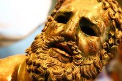 Närbilden av boxaren på vilar, medborgaren Roman Musem arkivbild