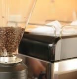 närbildkaffeböna Royaltyfri Fotografi