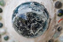 Närbildkonstdesign av färgrikt magiskt dekorera för sten Arkivfoto