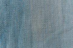 Närbildtextur av jeansbakgrund Royaltyfri Fotografi