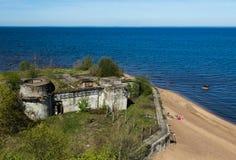 Närheten av fortet Royaltyfria Foton