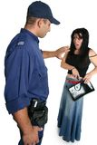 närmande sig ciminaltjänstemansäkerhet
