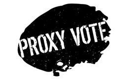 Närståenden röstar den rubber stämpeln Royaltyfri Bild