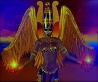 Närvaro av en ängel royaltyfri illustrationer