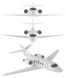 Näsa av privat flygplanflygplan Royaltyfria Foton