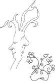 Näsan växer Royaltyfria Bilder