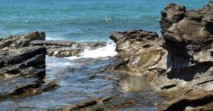 nästa rocks som ska waters Arkivbilder