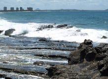 nästa rocks som ska waters Fotografering för Bildbyråer