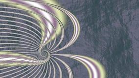 Nästan där fractalstil stock illustrationer