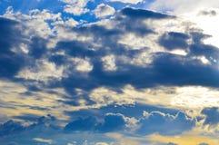 Nästan himmel Arkivfoto