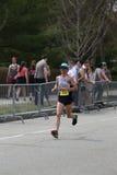 Nästan 30000 löpare deltog i den Boston maraton på April 17, 2017 i Boston Royaltyfri Foto