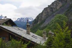 Nästan Mont Blanc Royaltyfri Fotografi