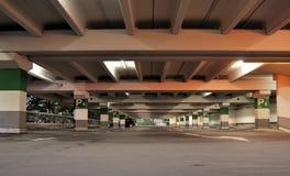 Nästan tom Uptownparkering Fotografering för Bildbyråer