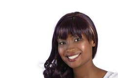 Nätt afrikansk flicka Arkivbilder