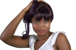 Nätt afrikansk flicka Royaltyfria Foton