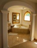 nätt badrum Fotografering för Bildbyråer