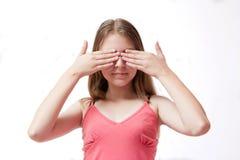 nätt barn för flicka Royaltyfri Fotografi