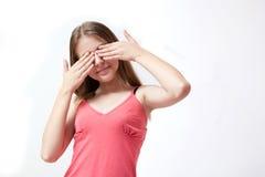 nätt barn för flicka Fotografering för Bildbyråer