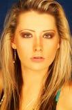 nätt blond flicka Royaltyfri Fotografi