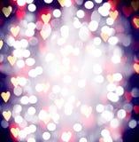 Nätt bokeh för ferie planlägger som jul av det nya årets helgdagsafton med en instagram som filtret Royaltyfri Bild